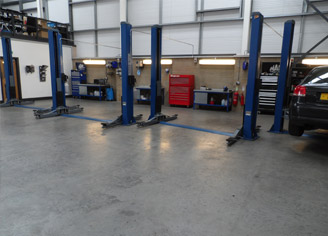 VWAuditec vehicle bays